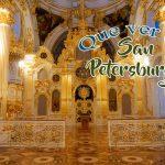 Que ver en San Petersburgo