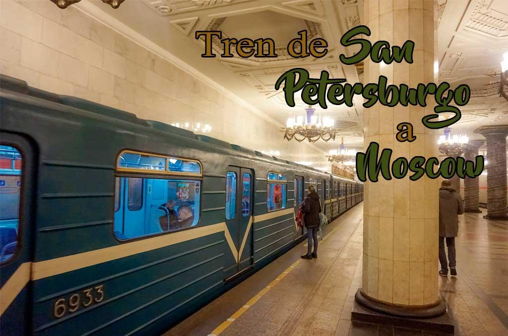 Como ir de Mosú a San Petersburgo