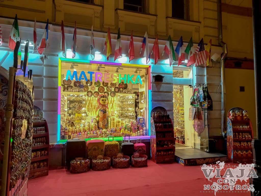 Que souvenirs comprar en Rusia