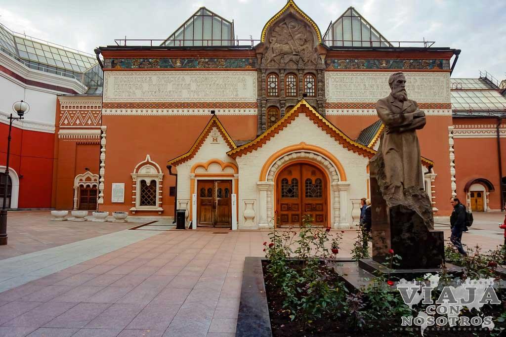 Visitar la galería Tretiakov