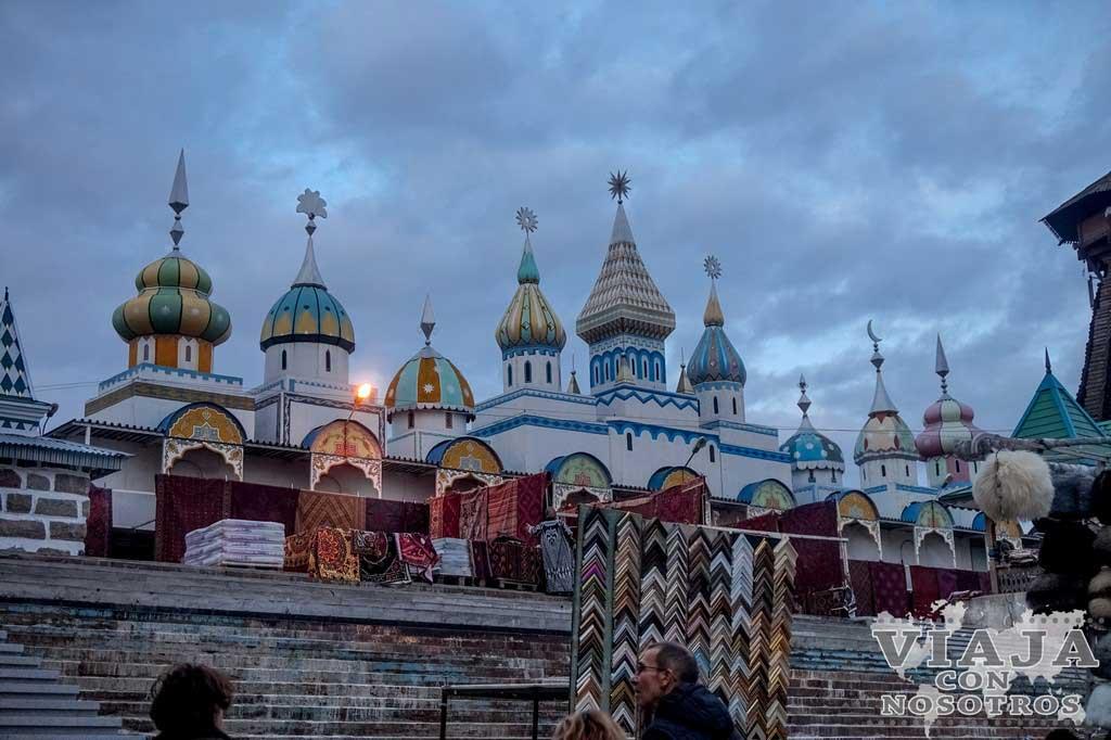 Como llegar al Mercadillo Izmailovo en Moscú