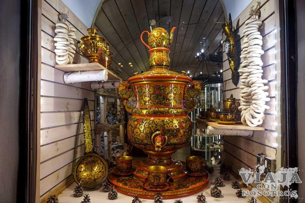 Que souvenirs comprar en Moscú