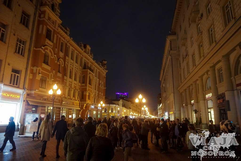 Como ir a la calle Arbat en Moscú