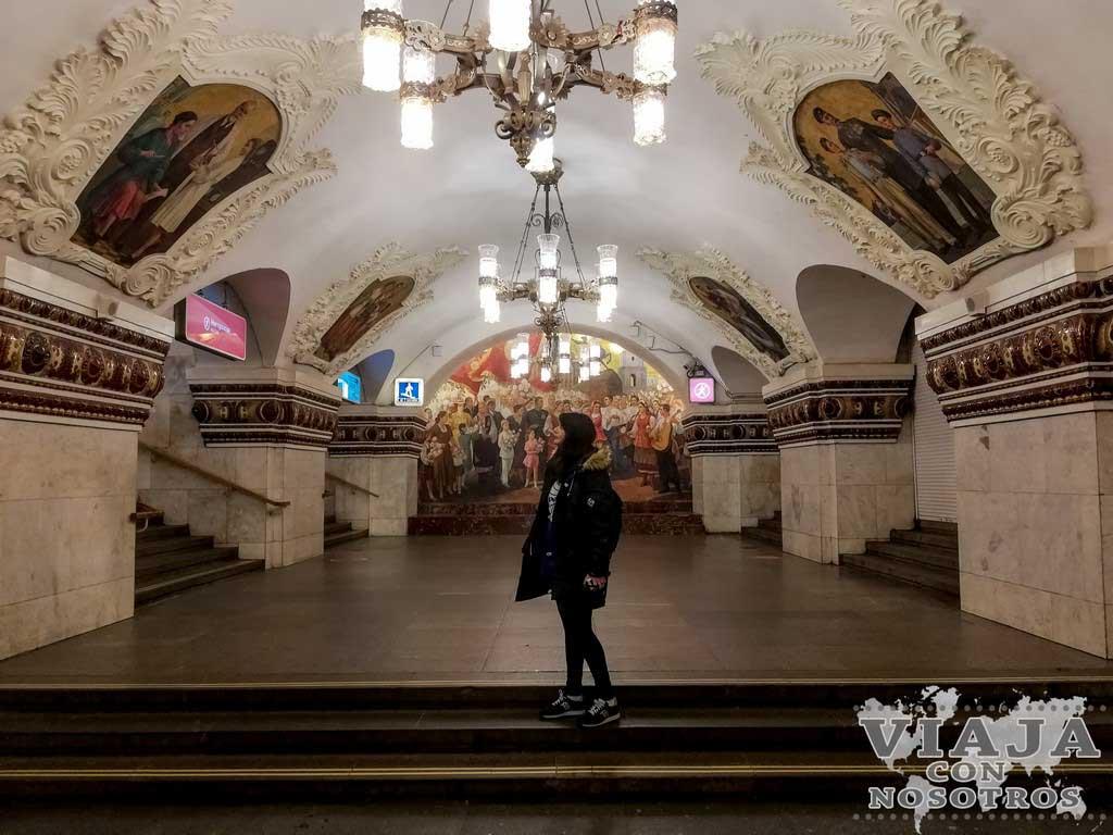 Consejos para el metro de Moscú