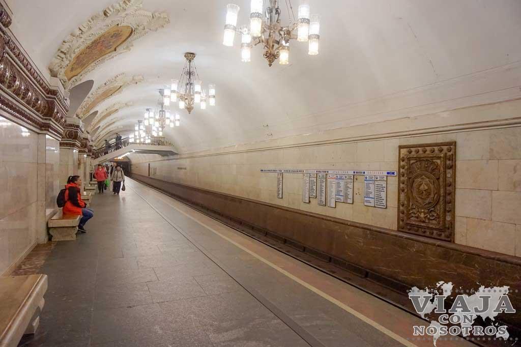 Recomendaciones para ver el Metro de Moscú