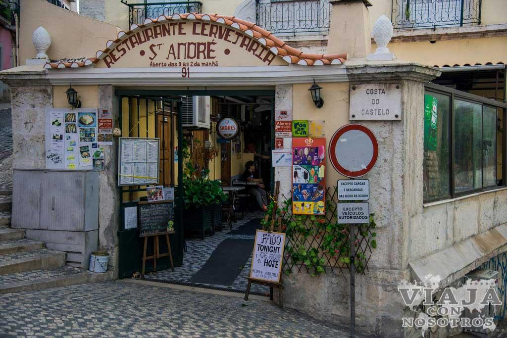 Ver espectáculo de Fado en Lisboa