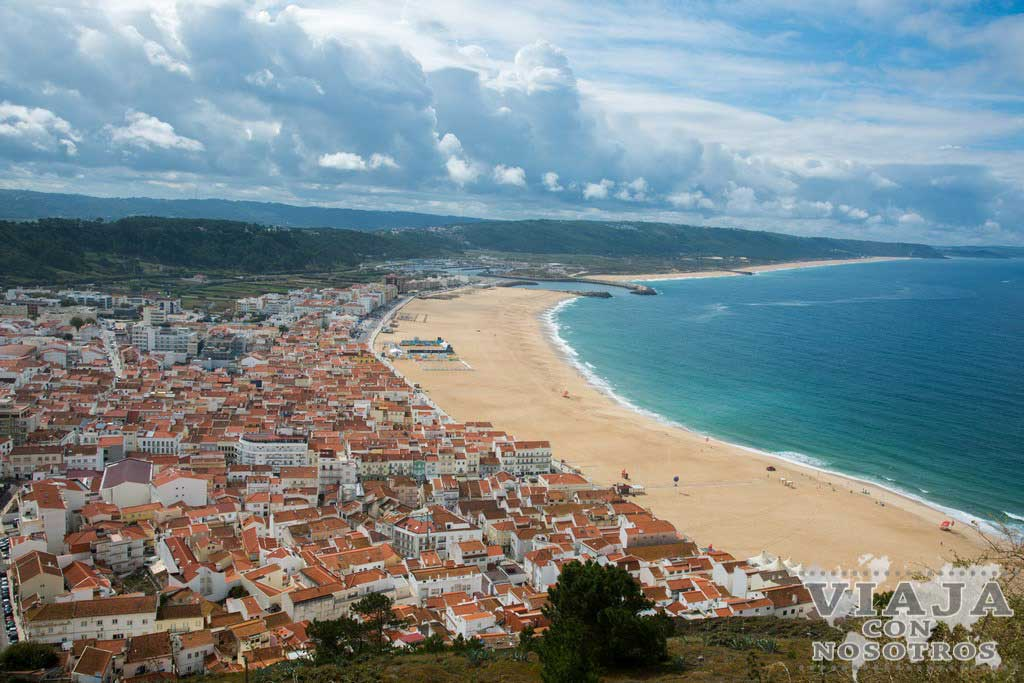 Playa de Nazaré o Playa Banhos