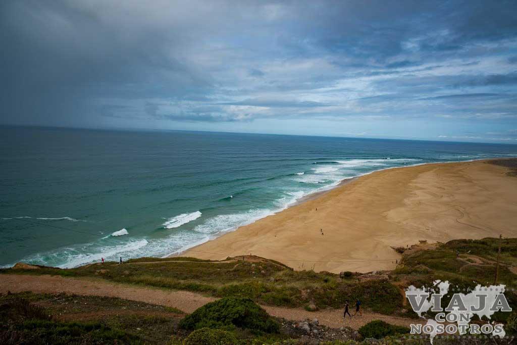 Playa Norte de Nazaré