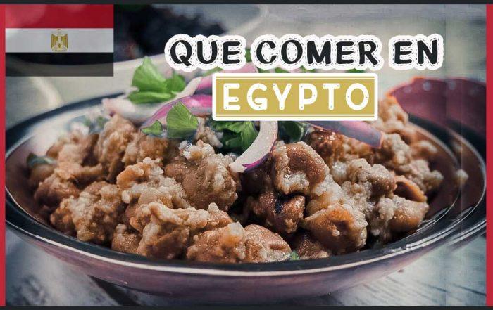 Que comer en Egypto