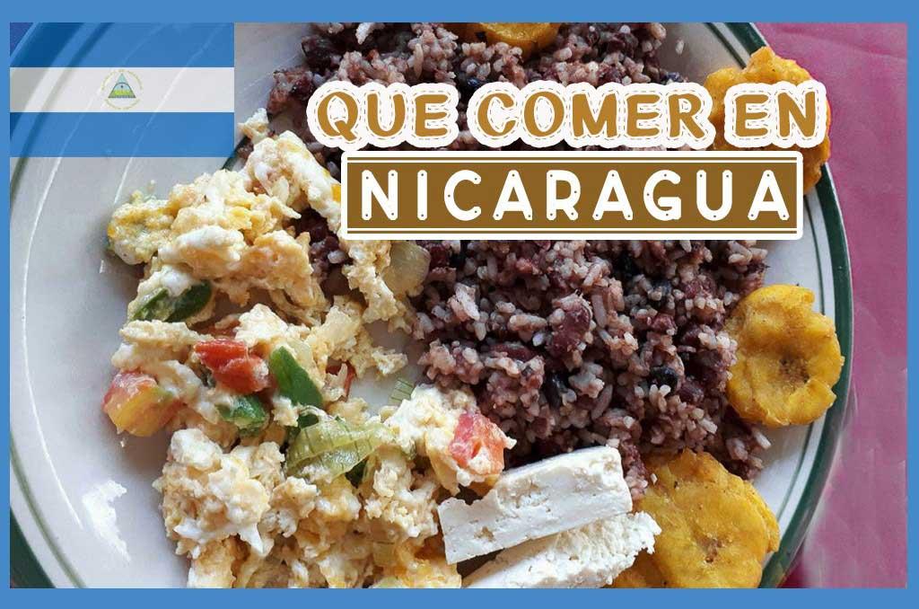 Que comer en Nicaragua