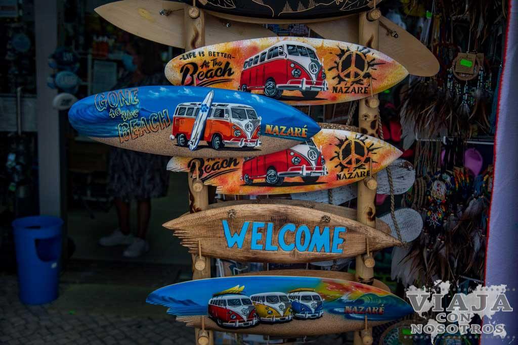 Souvenirs para comprar en Nazaré