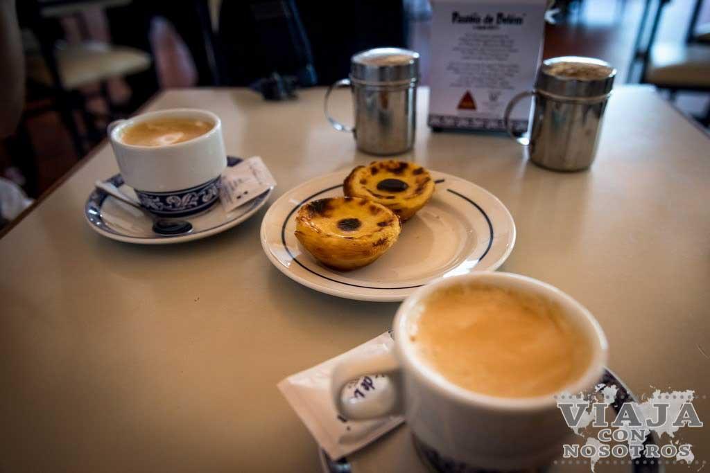 Donde comer los mejores pastelitos de Belem en Lisboa