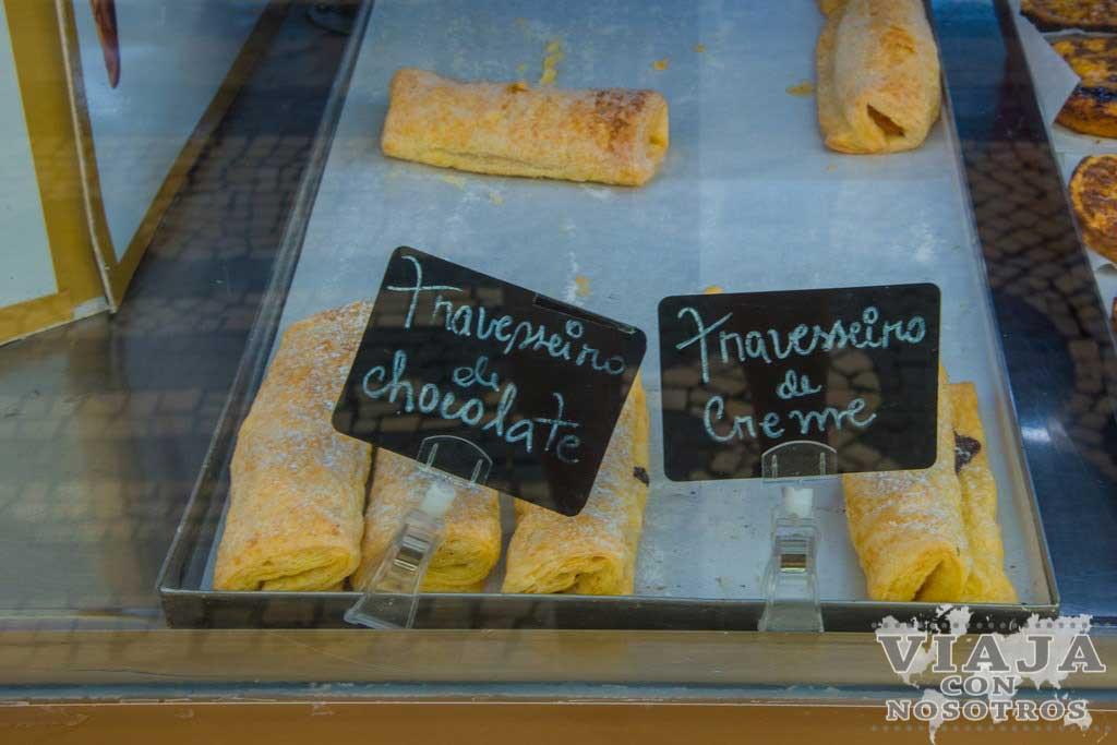 Travesseiro dulce típico de Portugal