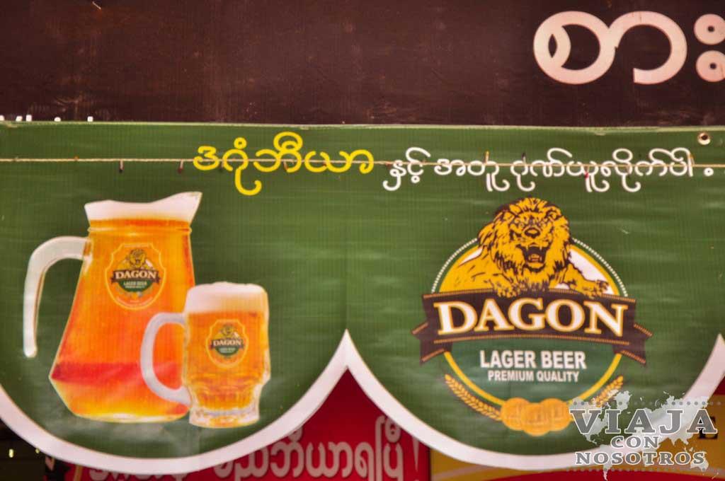 Cerveza de Myanmar