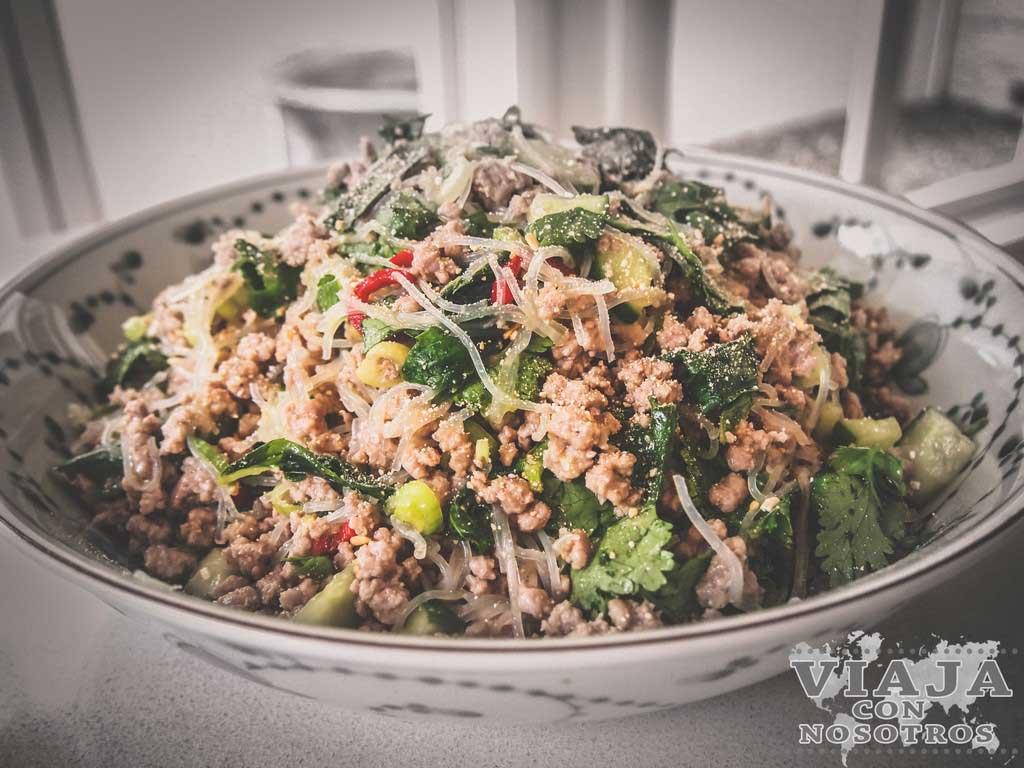 Comida típica de laos