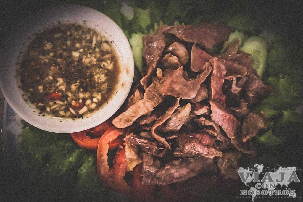 Comida en tu viaje a Camboya