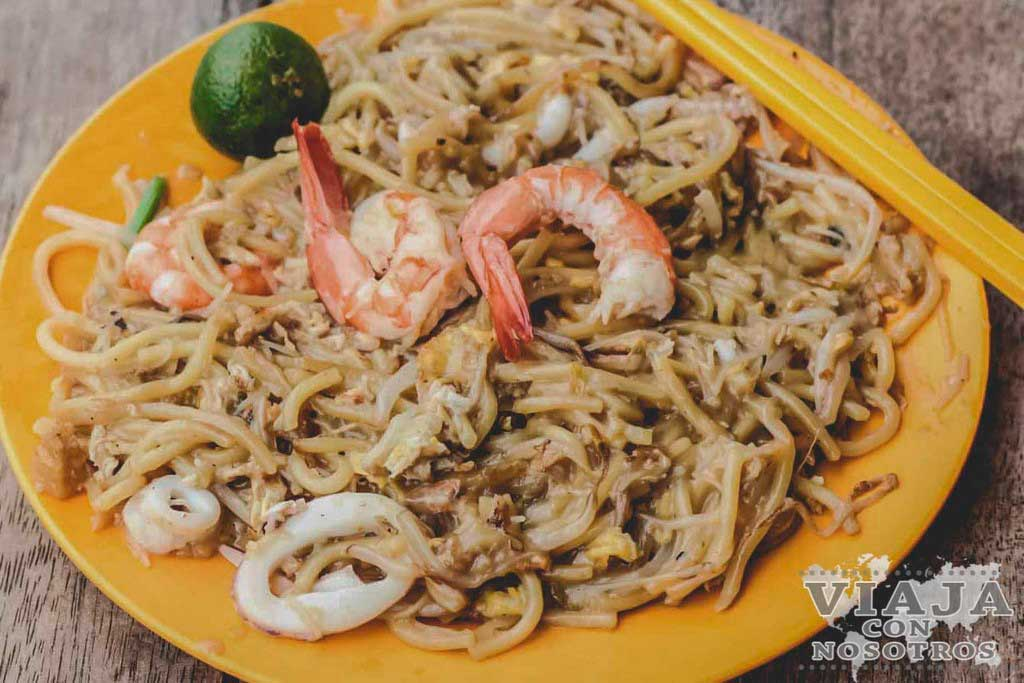 Hokkien Mee comida Malasia