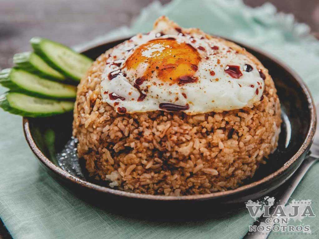 Nasi Goreng comida Malasia