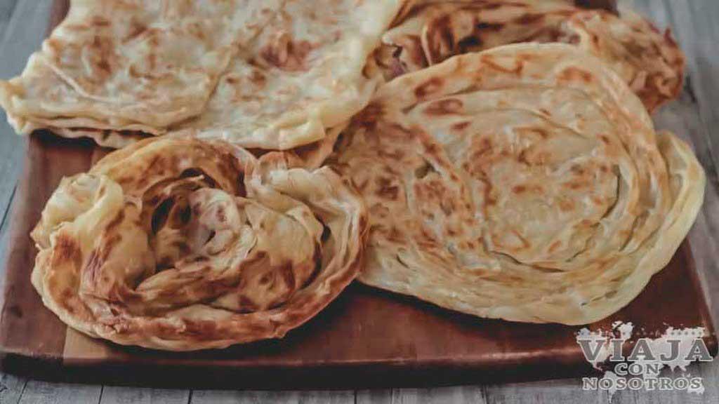 Roti Canai comida Malasia