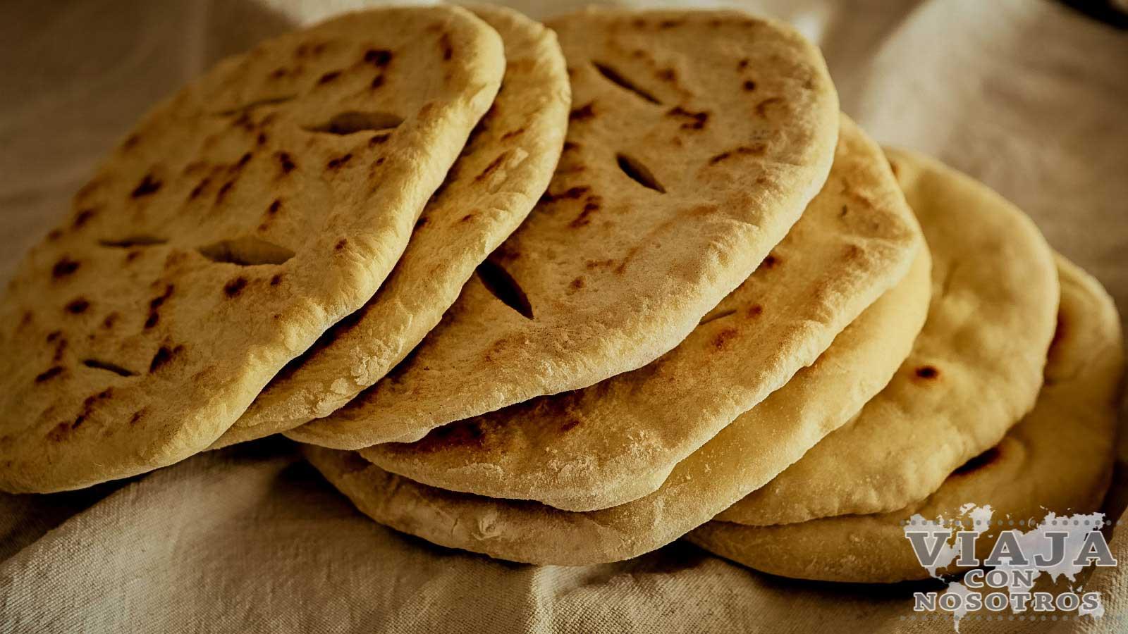 Pan típico de Israel Pita