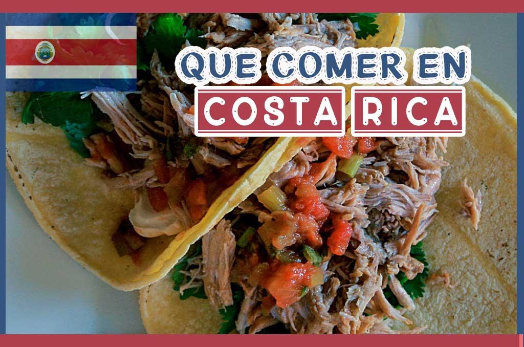 Que comer en Costa Rica