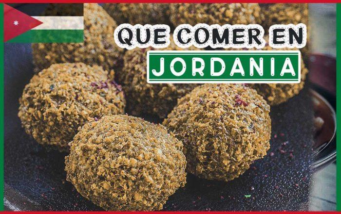 Comida típica de Jordania