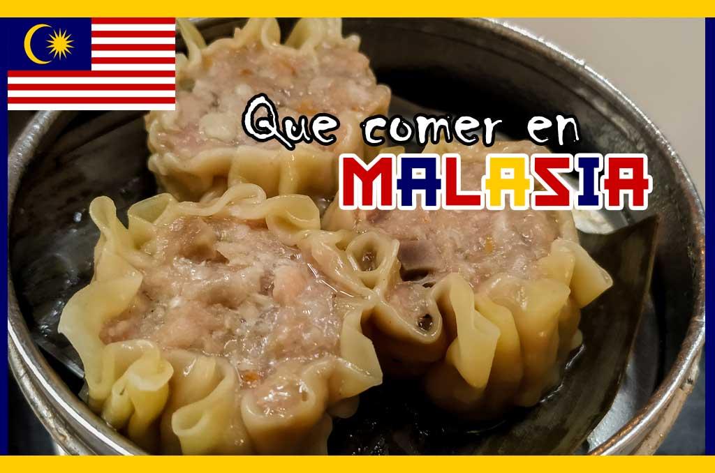 Que comer en Malasia