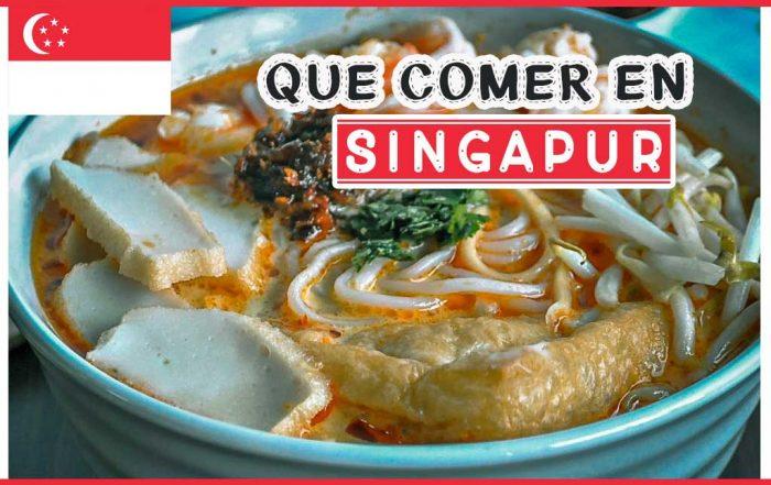 Que comer en Singapur
