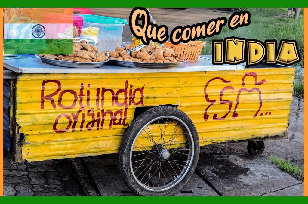 Que comer en India