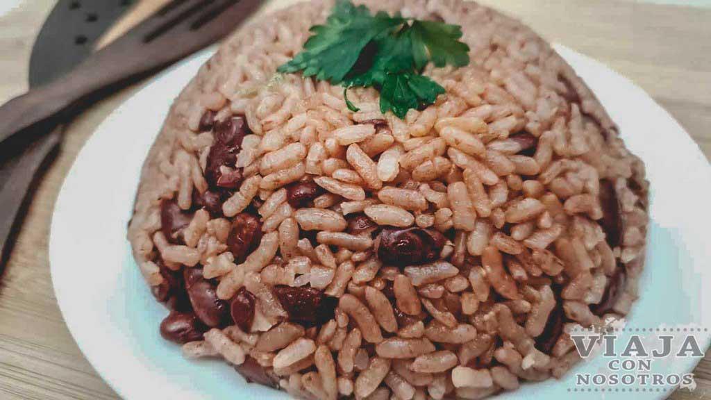 Arroz Congri comida Cuba