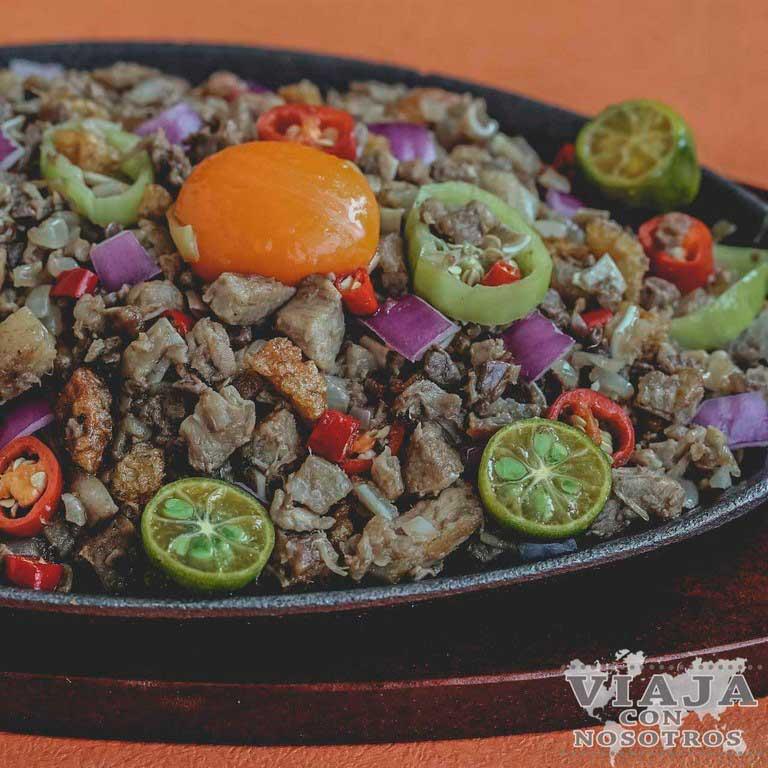 Sinigang comida Filipinas
