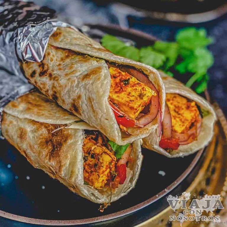 Kati Roll comida India