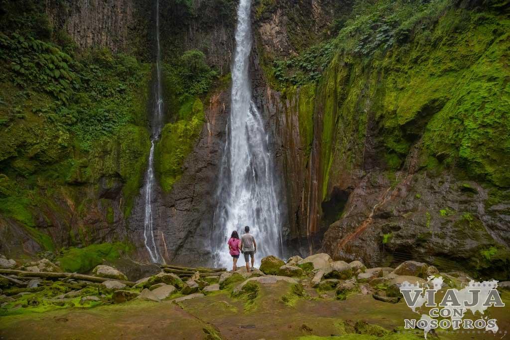 Mejores cataratas de Costa Rica