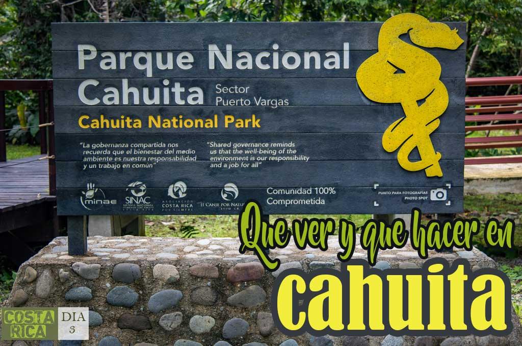 Que ver y que hacer en Cahuita