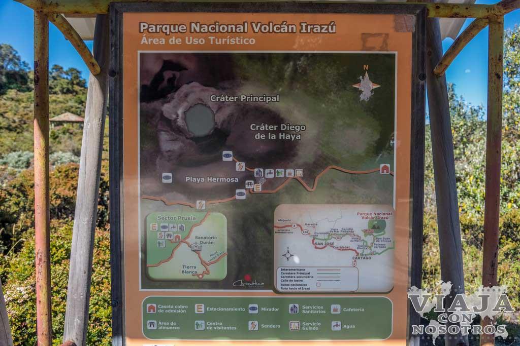 que ver en el volcan Irazu