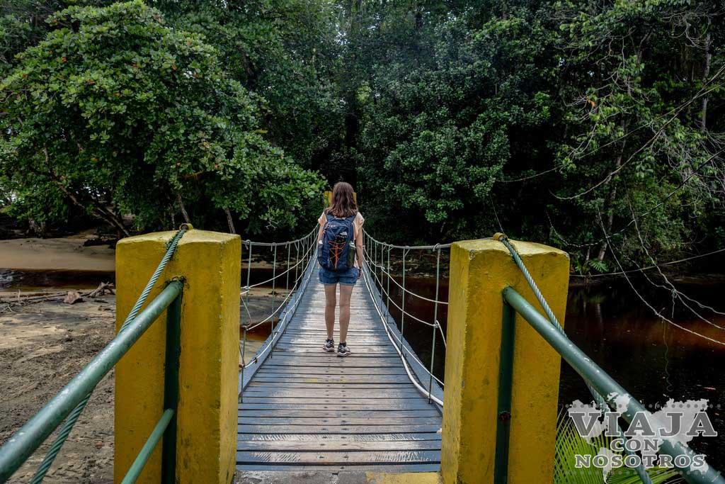 Horario refugio Gandoca manzanillo