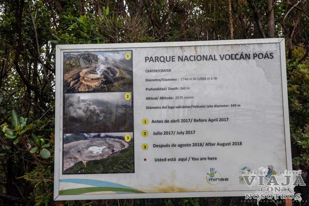 Consejos para visitar el Volcán Poas