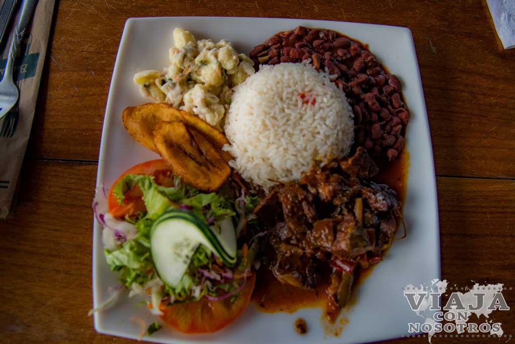 Que comer en Cahuita